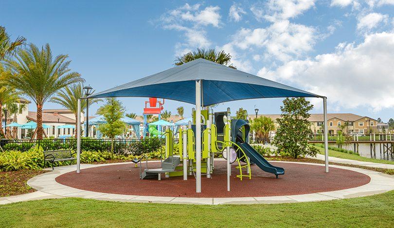 Área de lazer ao ar livre no Resort Windsor at Westside