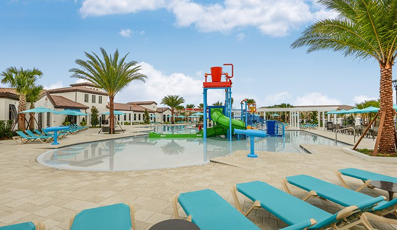Área com piscinas no Resort Windsor at Westside